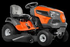 Садовый трактор - газонокосилка с сиденьем Husqvarna TS 146TXD (B&S Endurance Series V-Twin, гидр. трансмиссия K46LD HYDRO, блок.дифф., выброс вбок, 117см) - фото