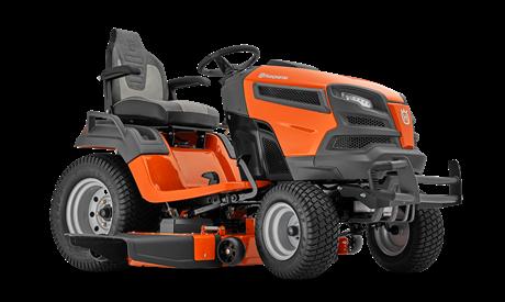 Садовый трактор - газонокосилка с сиденьем Husqvarna TS 348XD (B&S Endurance Series V-Twin 724 cм3 / 2 цилиндра, гидр. трансмиссия K66ELD HYDRO, блок.дифф., выброс вбок, 122см) - фото