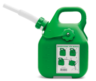 Канистра для бензина Husqvarna 6 л зеленая - фото