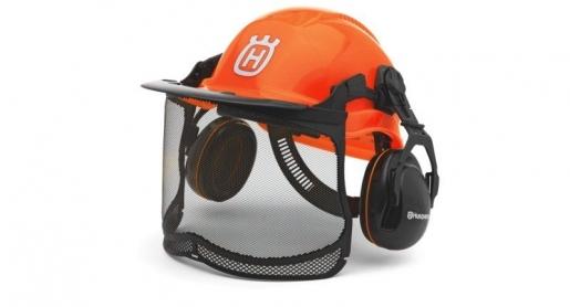Шлем защитный флуоресцентный Husqvarna Functional - фото