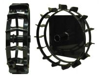Комплект металлических колес, D380 мм, к TF 338 - фото