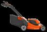 Аккумуляторная газонокосилка, несамоходная Husqvarna LC247Xi - фото