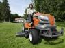 Husqvarna TS 342. Садовый трактор - газонокосилка. - фото
