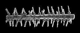 Ударные ножи скарификатора Husqvarna - фото
