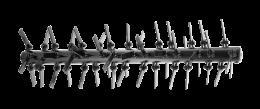 Ножи для цеповой косилки Husqvarna - фото