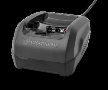 Зарядное устройство Husqvarna QC250. Быстрая зарядка, для всей техники и всех типов аккумуляторов Husqvarna. Потребляемая мощность 250Вт. - фото