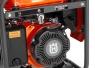 Генератор Husqvarna G1300P (Двигатель Husqvarna, 98.5cм3, ручной запуск, 1 кВт(макс.), 230В, 50Гц, 1 фаза, преобразователь 12В) - фото