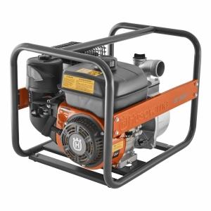 Мотопомпа Husqvarna W50P(Двигатель Husqvarna, 163cм3, ручной /запуск от сети, 28 м3/ч - 467 л/мин, D=50мм, напор до 30м, глубина всасывания 5-7м) - фото
