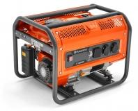 Генератор Husqvarna G3200P (Двигатель Husqvarna, 212cм3, ручной запуск, 3 кВт(макс.), 230В, 50Гц, 1 фаза, преобразователь 12В) - фото