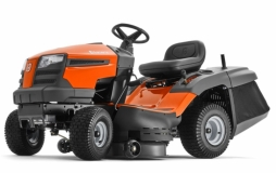 Трактор Husqvarna TC 138M (Intek 3125, мех. трансмиссия 6 вперёд + реверс, тр-ник 220л, усил. дека, 97см) NEW - фото